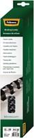 BINDRUG FELLOWES 12MM 21RINGS A4 WIT 25 STUK-3