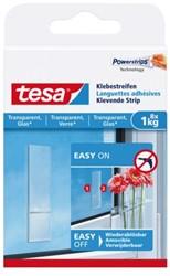POWERSTRIP TESA TRANSPARANT 1KG 8 STUK
