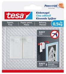 KLEVENDE SPIJKER TESA VOOR BEHANG EN PLEISTERWERK 0.5KG 2 STUK