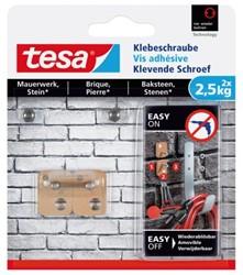 KLEVENDE SCHROEF TESA VOOR STEEN EN BAKSTEEN 2.5KG 2 STUK