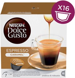 DOLCE GUSTO ESPRESSO CARAMEL 16 CUPS 16 CUP