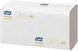 HANDDOEK TORK PREMIUM 100297 2LAAGS 21 PAK