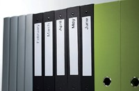 LABEL ETIKET DYMO 99018 38MMX190MM ORDNER SMAL WIT 110 STUK-2