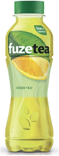 Frisdrank Fuze Tea green 400ml 40 Centiliter