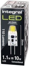LEDLAMP INTEGRAL G4 1.1W 4000K WARM WIT 1 STUK