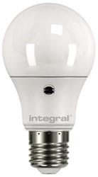 LEDLAMP INTEGRAL E27 6.6W 5000K DAG/NACHT SENSOR 1 STUK