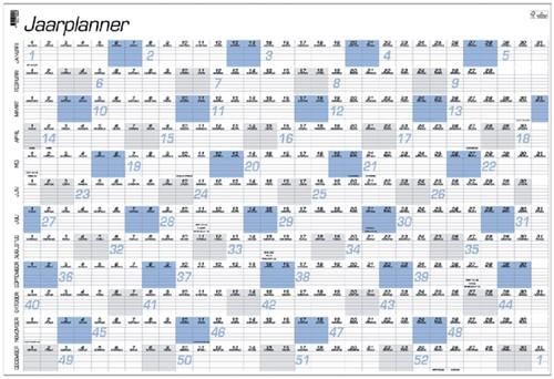 JAARPLANKALENDER 2022 QUANTORE A1 84X57CM 1 Stuk