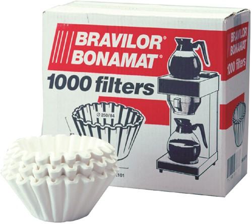 KOFFIEFILTER BRAVILOR 245MM 1000 Stuk