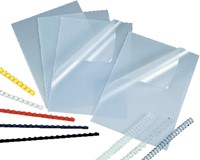 VOORBLAD FELLOWES A4 PVC 300MICRON TRANSPARANT 100 STUK-1