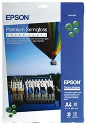 FOTOPAPIER EPSON S041332 A4 251GR PR SEMI GL 20 VEL