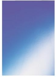 VOORBLAD GBC A4 KARTON HIGLOSS 250GR BLAUW 100 STUK