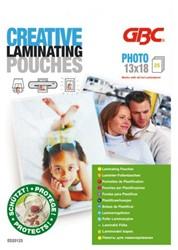 LAMINEERHOES GBC CREATIVE FOTO 130X180MM 2X125MIC 25 STUK