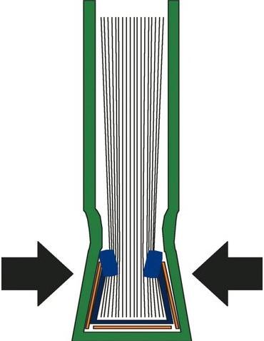 INBINDOMSLAG LEITZ 3.5MM HARD BLAUW 10 STUK-2
