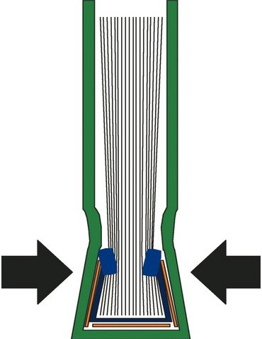 INBINDOMSLAG LEITZ 3.5MM SOEPEL BLAUW 10 STUK-2