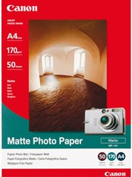 FOTOPAPIER CANON MP-101 A4 170GR MAT 50 VEL