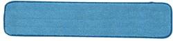 VLAKMOP MICROVEZEL MET POCKETS 43.5X14CM BLAUW 1 STUK