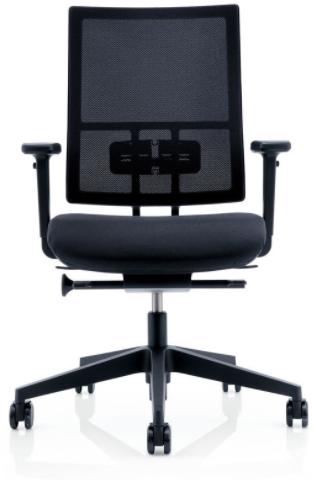 BUREAUSTOEL ANTEO BASIC 5030 NETWORK  AIR-SEAT ZITTING EN 5D ARMLEGGERS