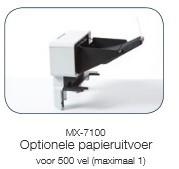 PAPIERUITVOER BROTHER MX7100  500V 1 STUKS